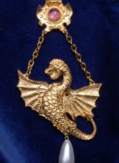 Spanish Dragon pendant