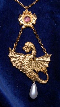 Spanish Dragon pendant