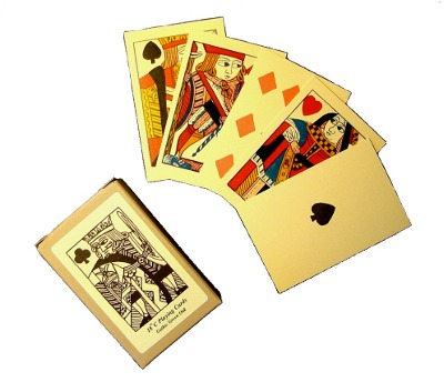 18th C Playing Cards