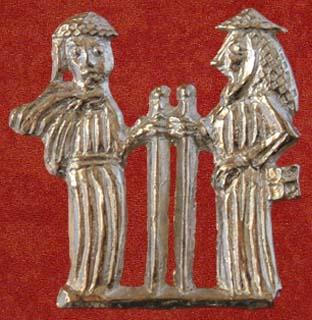 Two pilgrims