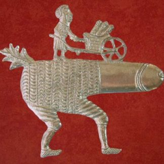 Phallus with Wheelbarrow badge.