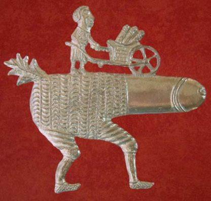 Phallus with Wheelbarrow badge.