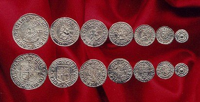 Charles the First Coin set