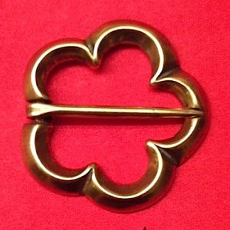 Annular Cinquefoil, brooch