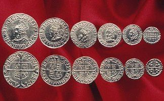 Elizabeth 1 coin set
