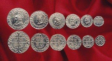 Elizabeth 1 coin set