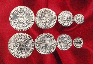Henry VIII coin set