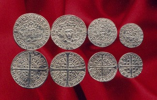 Richard III/ Edward IV coin set