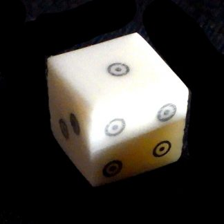 Dice, Bone, Ring and Dot