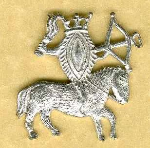 Vulva on horseback