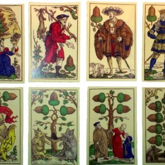 16th C German Flotner card deck