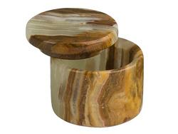 Round Onyx container