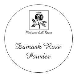 Damask Rose Powder
