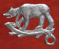 Earl of Warwick Livery Badge - Bear & Ragged Staff