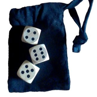 Hazard Dice Set - 3 Modern Dice