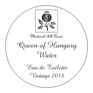 Queen of Hungary Water Eau de Toilette, Vintage 2018