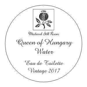 Queen of Hungary Water Eau de Toilette, Vintage 2017